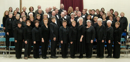 Photo of East Range Choral Society from March 2005
