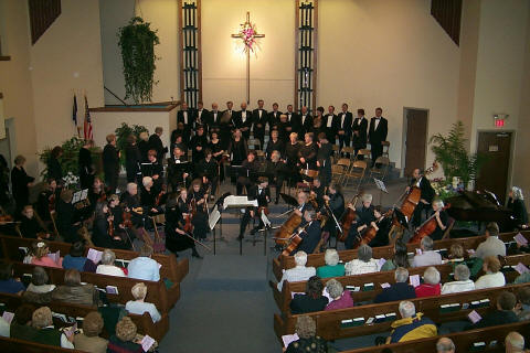 Photo from the Palm Sunday Concert, April 2000